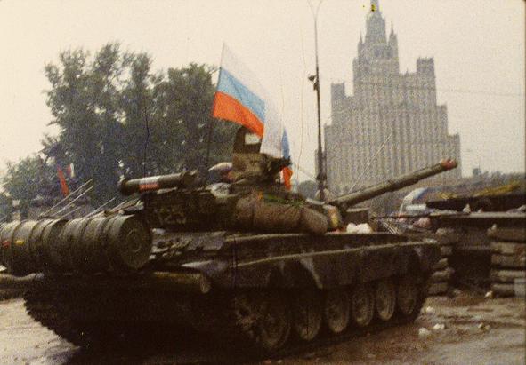 La tentative de putsch à Moscou. 19-21 août 1991